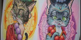 johann cat buddhas
